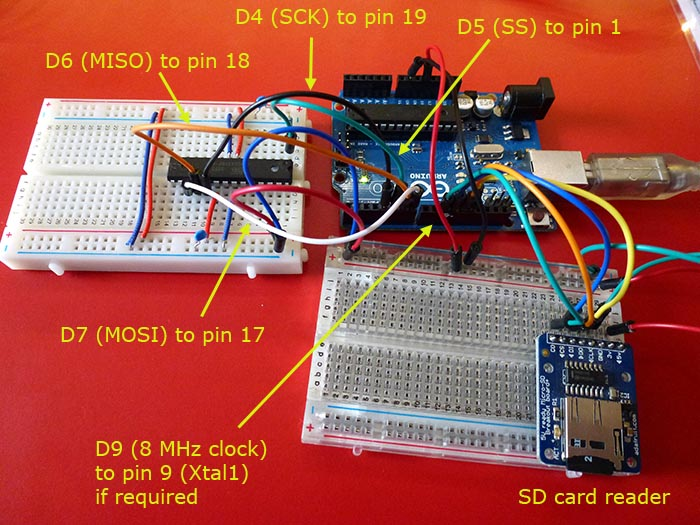 SPI Arduino Library, connecting SPI devices to Teensy