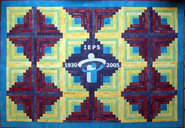 IEPS 75th Anniversary Quilt